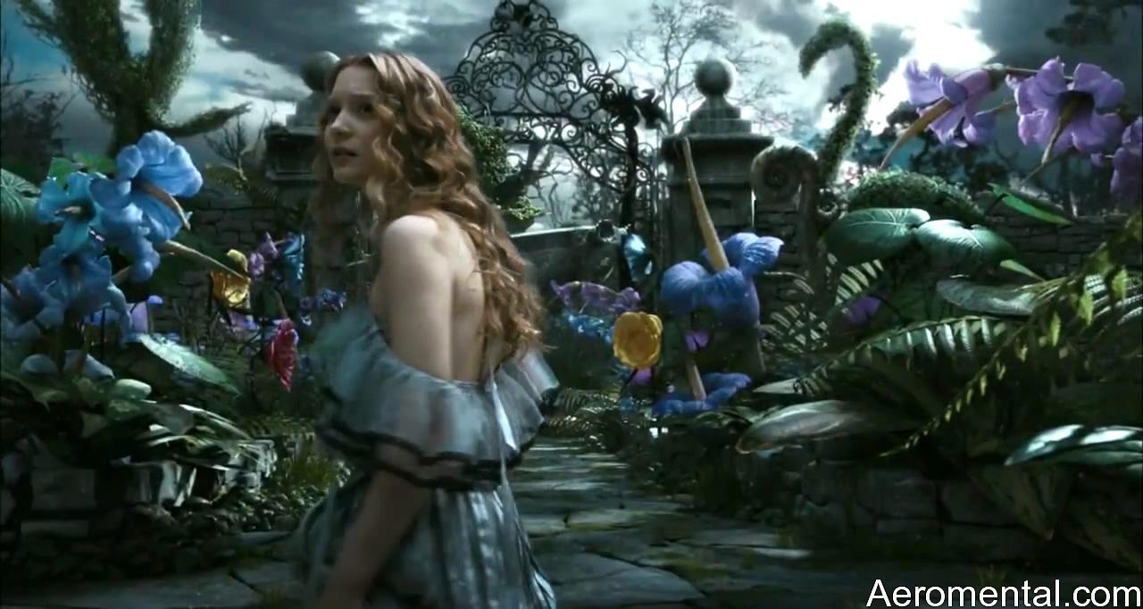 Alicia en el País de las Maravillas HD jardín