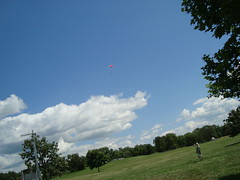 Flying A Kite