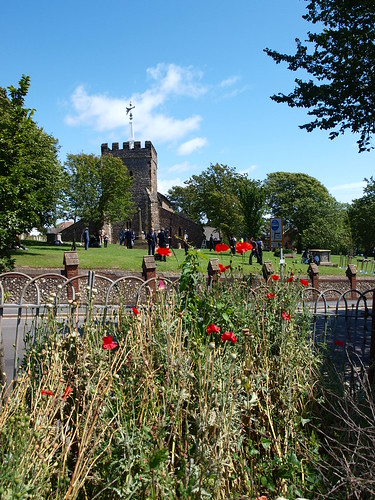 Poppies and St Nicholas's