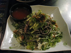 Namu in San Francisco - Cold Soba Salad