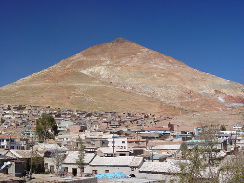 The Cerro Rico de Potosi