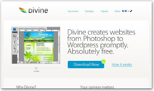 3778069248 226c4c7b18 o Divine: 快速通过PSD文件生成WordPress模板  By Web2.0  盗盗