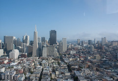 Financial District from Coit Tower