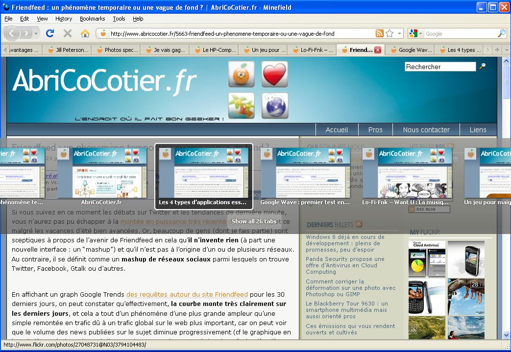 Firefox 3.6 Alpha 2 - 2