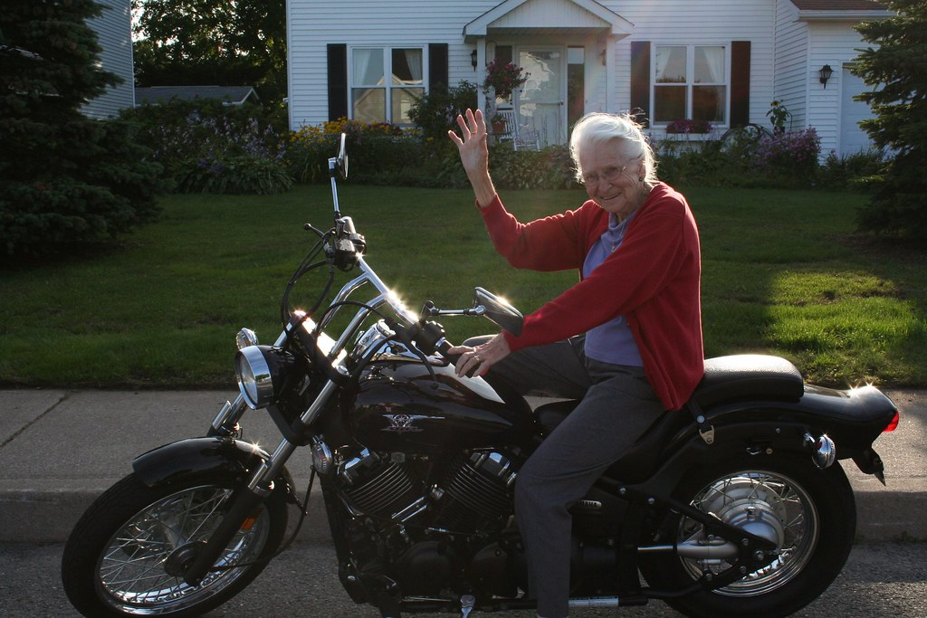 Grammy goes for a spin?