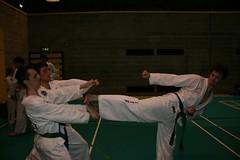 UCD TKD Club Training - UCD Sports Centre (July 2009) (irlLordy) Tags: ireland dublin club training break phil kick july taekwondo 2009 tkd ucd niall sportscentre cillian
