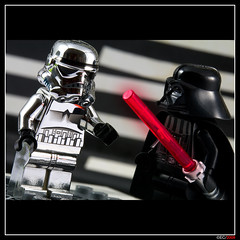 Stormtrooper & Darth Vader (ErnestoCarrillo70) Tags: macro starwars lego stormtrooper darthvader