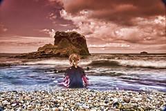Waiting (rmrayner) Tags: ocean longexposure sea summer england beach water delay cornwall surf slow wave atlantic slowshutter canoneos cokinfilter slowshutterspeed shutterlag rmrayner ralphrayner