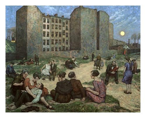 011-Noche de Verano 1928, Berlin, Berlinische Galerie-Hans Baluschek