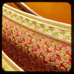 Over the Silk Road (designldg) Tags: red orange india heritage texture yellow closeup square pattern colours song silk culture atmosphere sensual panasonic trends fabric workshop soul varanasi tradition shanti kashi sari loom benares benaras artcrafts garment handloom uttarpradesh  brocades indiasong dmcfz18