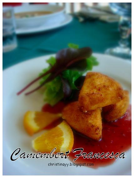 Angelo's House Restaurant: Camembert Francesca