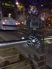 Gorilla Pod in action for taking the Rushing Home Shot.