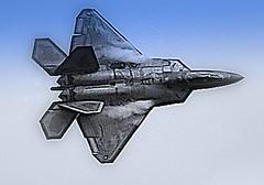 us air force raptor stealth technology awesome (thomassylthe) Tags: nikon technology aircraft military raptor stealth smokin usairforce fighterjet rockfordil f22raptor nikkor300mm