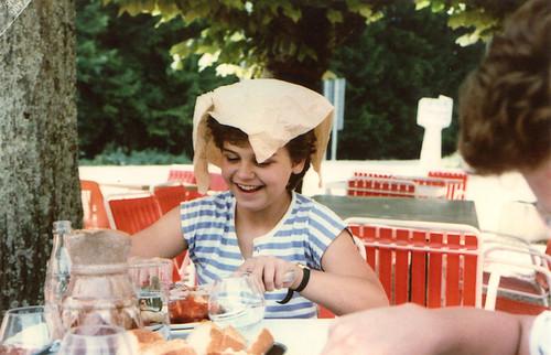 Dejeuner in the Loire Valley, August 1987