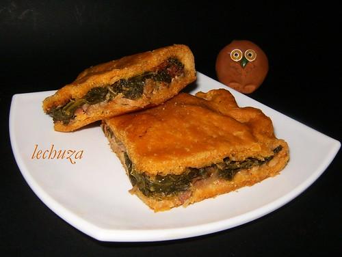 Empanada de cocido-porción