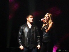 Michael Sarver and Megan Joy (basschick89) Tags: oklahoma michael tour live joy megan center american bok tulsa 2009 idols sarver