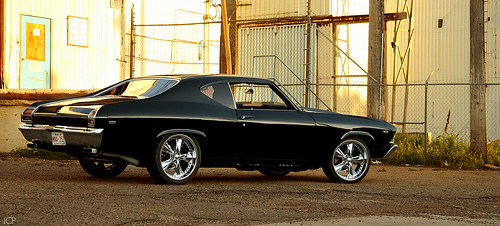 Starsky And Hutch and '69 Chevy Chevelle Photoshoot