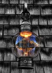 (VikasAnand) Tags: reflection lamp canon rebel lantern vikas rockport sigma18200mm
