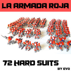 72 Hard Suits (AlterEvo) Tags: red lego hard armada suit moto motorcycle mecha evo roja moc amry