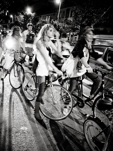 Budapest Critical Mass Cycle Chic