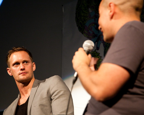 Metropia at FantasticFest 2009 Alexander Skarsgård (Skarsgard) and Director Tarik Saleh by BSR-12.