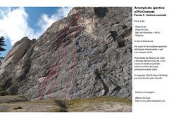 Sport Climbing at Piz Ciavazes TOPO  - Climbing in Dolomiti