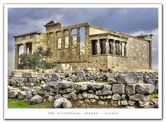 The Erechtheum, Greece