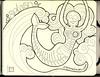 Misplaced mermaid (renmeleon) Tags: art moleskine pen ink dayofthedead skeleton sketch journal wave sketchbook diadelosmuertos splash mermaid ria journaling renmeleon skellie renfolio