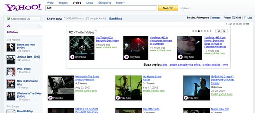 Yahoo! Video Search - Music
