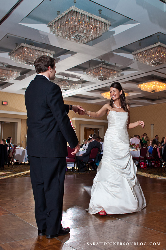 Marriott Country Club Plaza wedding reception photographers
