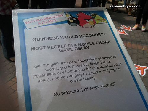 The attempt to set a new Guinness World Records!