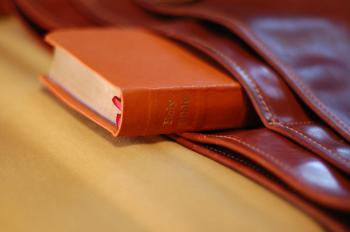 Deluxe Compact ESV in Pigskin - In Pocket