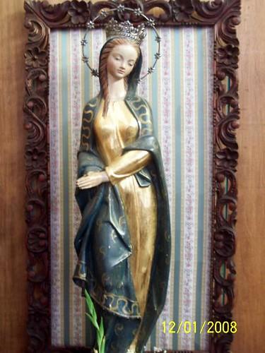 """Virgen María """"La chinita"""" Seminario Menor"""