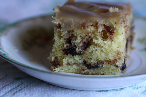 Chocolate Walnut Coffee Cake