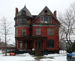 alfred street brush park.jpg (southofbloor) Tags: park house architecture detroit brush alfred mansion