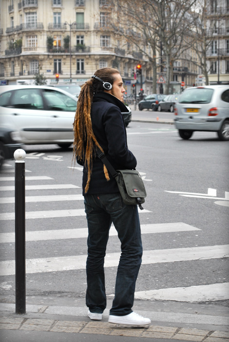 Dreadlocks streetstyle paris