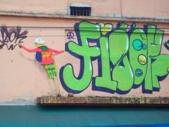 osgemeos_finok (tia_aninha1) Tags: streetart brasil graffiti arte sopaulo urbanart urbano vlok ruas pari grafite osgemeos anx finok