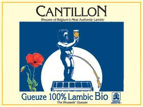 Gueuze 100% Lambic Cantillon lable