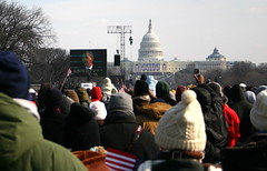 Obama Inauguration from National Mall