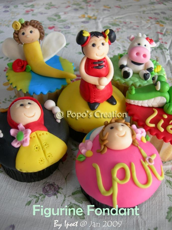 Figurine Cupcake