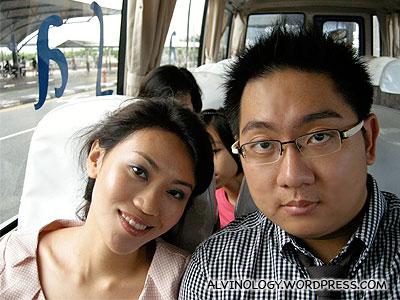 On board the condo shutter bus