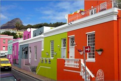Colour The World (lookaroundandsee) Tags: pink blue orange green capetown farben kapstadt bokaap anawesomeshot aplusphoto colourartaward