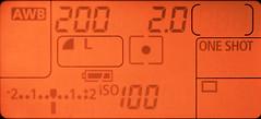 spot metering pattern