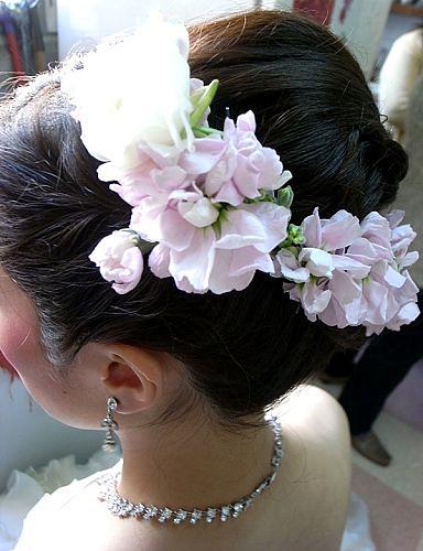 MING WORKSHOP 拍攝的 Bridal Make-up 。