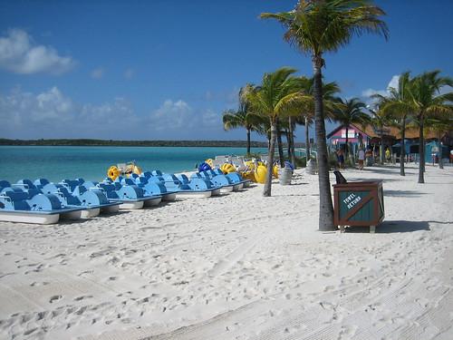 Castaway Cay - Pedal Boats