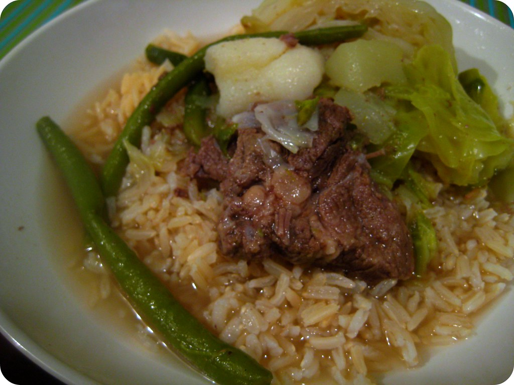 6/365: Nilagang baka with brown rice