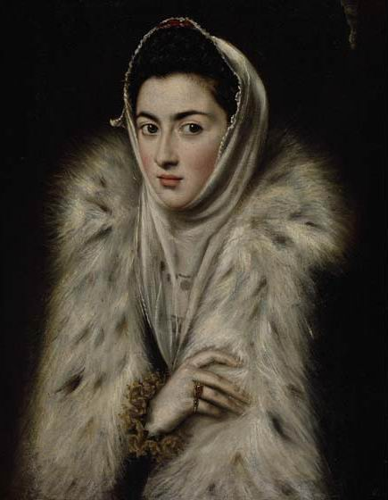 El Greco, Lady in a Fur Wrap, 1577-80