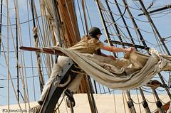 A woman's Work is Never Over (SewerDoc (2 million views)) Tags: photography boat sailing ship passion sail tallships rigging blueribbonwinner brigniagara anawesomeshot ysplix winnr sewerdoc jaredfein