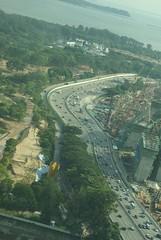 1556- Multi-Lane Freeway unlike Vancouver! (HaYnCaNdi808) Tags: singapore ferriswheel singaporeflyer asia08