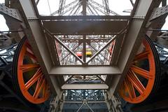 Eiffel Tower Elevators